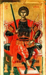 Icon: Holy Great-Martyr George, the Victory-Bearer.